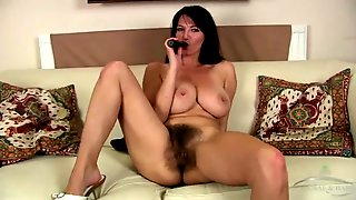 Milf Pubic Hair Is Growing Wild On This Babe