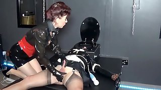 Madame C Plays With Rubber Doll AngelicBellas Cock & Ass
