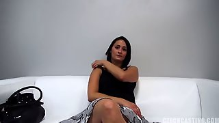 European Amateur Gets Fucked At The Casting