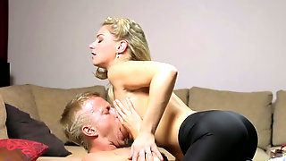 Gorgeous Blond Mommy Ally Rides Hard Dick Of That Guy Ardently After Steamy Blowjob