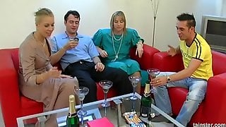 Relaxing Evening Quickly Turns Into The Wild Vaginal Penetration