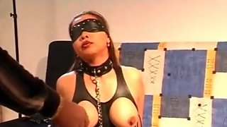 Check My MILF Asian BDSM Slave Masked And Fucked Hard