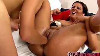 Redhead Lesbian Gina Enjoys Fisting