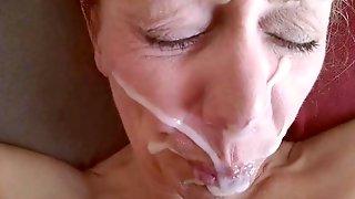 10 Amateur Facial Cumshots Vol. 16