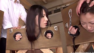 Succulent Ami Tokita And Her Slutty GFs Go Hardcore Playing Torture Games