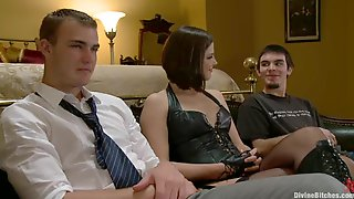 Smoking Hot Bobbi Starr Is Going To Make These Dudes Fuck Her