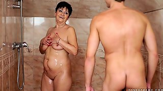 Old Whore Anastasia Is Fucked By Hot Tempered Young Dude