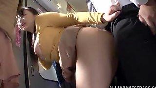 japan bus fuck