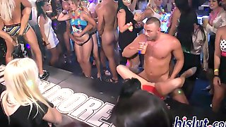 Kinky Orgy Action In The Club