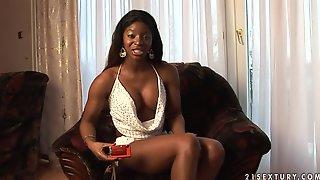 Ebony interview porn