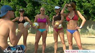 Volleyball Team Do Group Sex