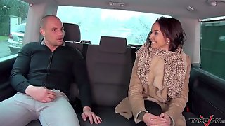 Luscious Red-haired Goddess Fucks A Horny Guy In The Car