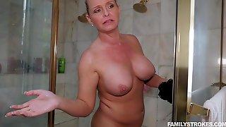 Big Boobs Blair Williams Fucking Her Stepfather In Bathroom