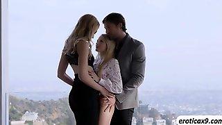 Threesome With Scarlett And Alexa
