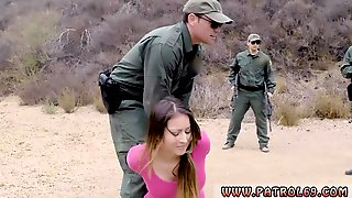 Police Footjob Anal For Tight Booty Latina