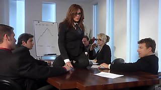 Gangbang porn office share your