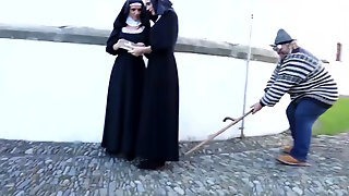 Gorgeous Cathlic Nuns Cant Get Enough Of Each Other