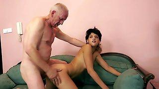 Nipple twisting domination