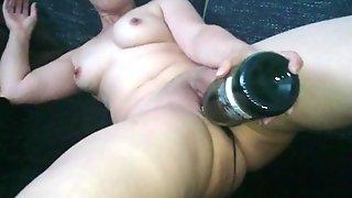 Masturbation With A Bottle