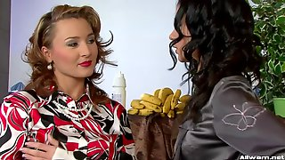 Sexy Blouse Girls Messy Food Fun