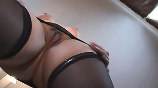 Busty Mature Blonde Strips And Masturbates Like A Slut