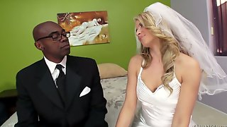 Naughty Bride Anikka Albrite Cheats With The Best Man On The Wedding