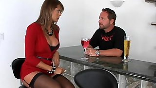 Great Fuck With One Busty Cougar