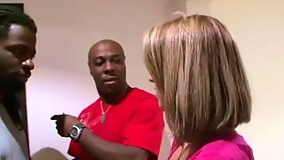 Black Dick Swallowing With Patricia And Maistresse.