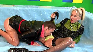 Nasty Lesbians In Bizzare Session