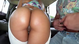 Susana Santos In Pulled Muscle - BangBus