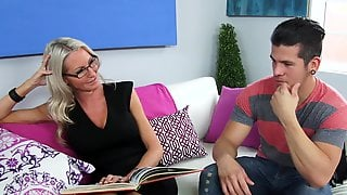 Teacher Emma Starr Gives Head And Fucks Her Student At Home