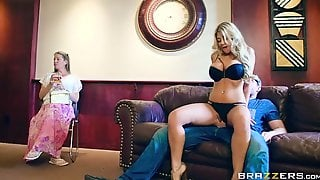 Man Fuckiing Busty Blonde Milf Kayla Kayden In Front Of His Wife