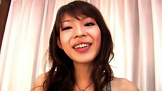 Asian Hottie With Nice Tits Masturbates In Solo Action