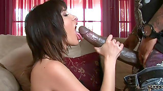 Buddy With Big Cock Is Banging Her Pussy
