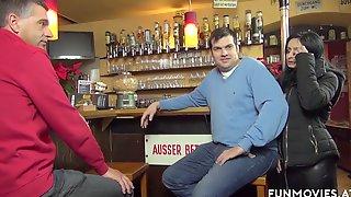 German Wives At Public Pub
