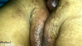 After She Got Caught Playin Pt.2... Squirt, Gape, Queef And Creampie!!!!