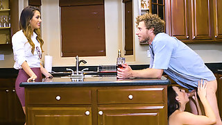 Michael Vegas Nails His Wifes Hot Sister In The Kitchen