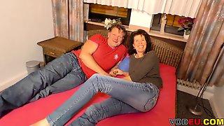 Amateur Deutsche Paar