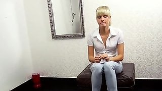 1. Amateur Casting For Sweet German - Little Sophie Gets First Ass-fuck