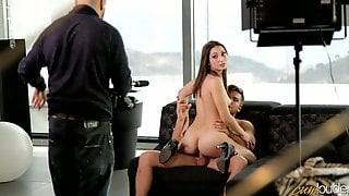 Fabulous Babe Jimena Lago Is Riding Dick In Hot Behind The Scene Video