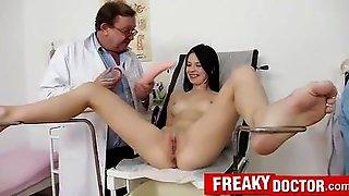 Gynecology Exam Of Petite Slovakian Teen Lucianna Karel