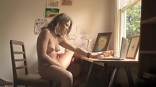 Spying Sister Rub One Out For Boyfriend
