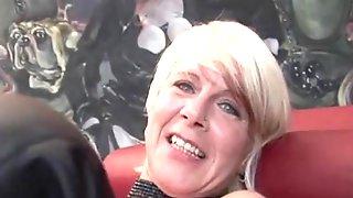 Check My MILF Tattooed Granny Pumping Pussy
