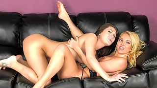 Two Girls Know How To Have Fun