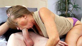 Horny MILF Darla Crane Fucking Her Sons Friend