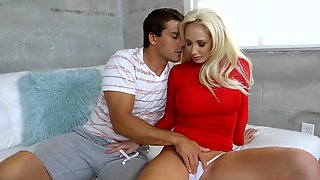 Married Blonde Is Fucking Her Husbands Brother