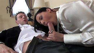 Fabulous Pornstar Lulu Martinez In Hottest Brunette, Lingerie Sex Scene