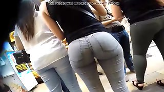 Best Round Ass Ever In Tight Jeans