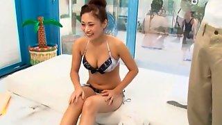 Incredible Japanese Girl Mina Kanamori In Fabulous JAV Scene