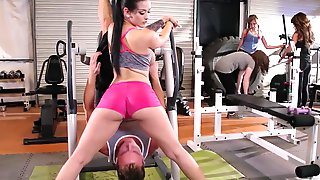 Busty Katrina Jade Gets Railed & Nutted At The Gym
